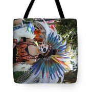 Dancer Day Of The Dead II Tote Bag