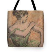 Dancer Tote Bag by Degas