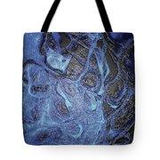 Dancer In Blue Tote Bag