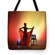 Dancer In The Shadows Tote Bag