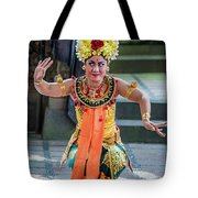 Dancer Of Bali Tote Bag