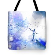 Dancer On Water 1 Tote Bag
