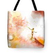 Dancer On Water 2 Tote Bag