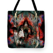 Dancer, The Watcher And The Mirror Tote Bag