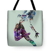 Dancer Watercolor Tote Bag