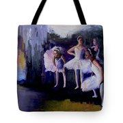 Dancers Backstage Tote Bag