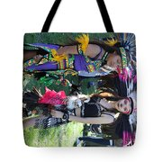Dancers Day Of The Dead  Tote Bag