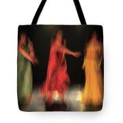 Dancers In Motion  Tote Bag