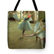 Dancers In The Classroom Tote Bag