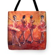Dancers In The Flame Tote Bag