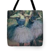 Dancers In Violet  Tote Bag