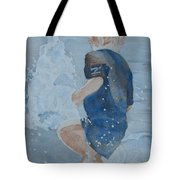 Dances With Fountains Tote Bag