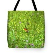 Dancing Among The Flowers Tote Bag