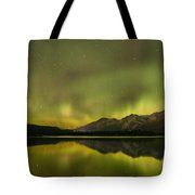 Dancing Around The Mountains Tote Bag