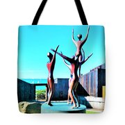 Dancing At Sea Ranch Tote Bag