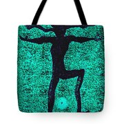 Dancing At The Creation Of The Green Earth Tote Bag
