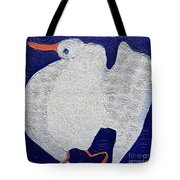 Dancing Bird Tote Bag