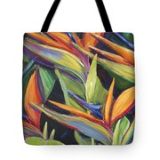 Dancing Birds Tote Bag