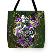 Dancing Butterfly Tote Bag