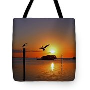 Dancing By Firelight Tote Bag
