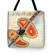 Dancing Cello Tote Bag