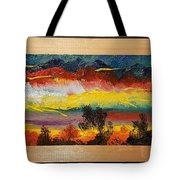 Dancing Colors     102 Tote Bag