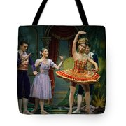 Dancing Doll Tote Bag