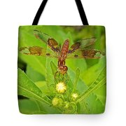Dancing Dragonfly Tote Bag