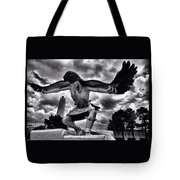 Dancing Eagle  Tote Bag