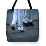 Dancing Feet At The Dominican Republic Son Party Number One Tote Bag