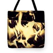 Dancing Flames Tote Bag