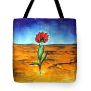 Dancing Flower-girl Tote Bag