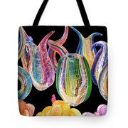 Dancing Glass Objects Tote Bag