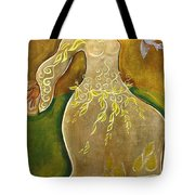Dancing Her Prayers Tote Bag by Shiloh Sophia McCloud