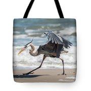 Dancing Heron #1/3 Tote Bag