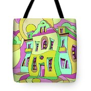 Dancing House Tote Bag
