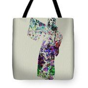 Dancing In Kimono Tote Bag by Naxart Studio