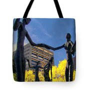 Dancing In The Park Tote Bag