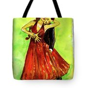 Dancing In The Showlights Tote Bag