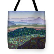 Dancing Light Of Northern New Mexico Tote Bag