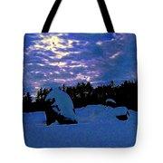 Dancing Morning Lights Tote Bag