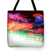 Dancing Neon Tote Bag