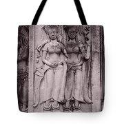 Dancing Nymphs Tote Bag