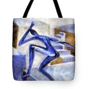 Dancing Off The Edge Of The World Tote Bag