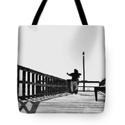 Dancing On The Pier Tote Bag