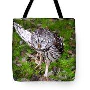 Dancing Owl Tote Bag