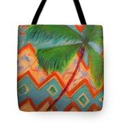 Dancing Palm Tote Bag