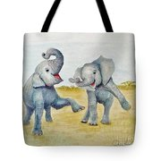 Dancing Tote Bag by Phyllis Howard