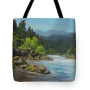 Dancing River Tote Bag