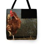 Dancing Rooster Tote Bag